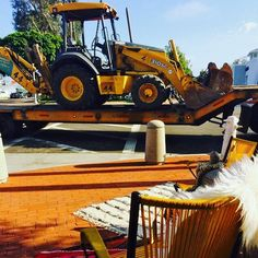 We believe in the power of faux fur to set the good vibes. Happy Thursday, we're just plowing through the week! Right on track for the weekend!  #tbt Good times on a #Lark14 at the gorgeous @shop_jolie in #NewportBeach #adventure #letsgoonalark #californiastyle #lidomarinavillage Gorgeous yellow French chairs by @503found