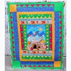 Lily Patch Quilts: Sandbox Quilt