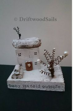 Check out this item in my Etsy shop https://www.etsy.com/uk/listing/477901410/christmas-driftwood-cottage-handcrafted