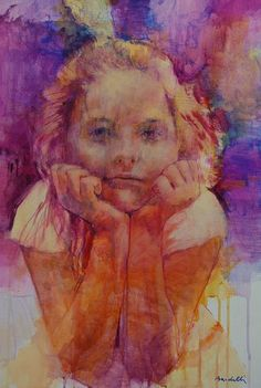 Painting is silent poetry, and poetry is painting that speaks. Orange And Purple, Shades Of Purple, Orange Color, Bev Doolittle, Painting For Kids, Violet, Artist Art, Figurative Art, Great Artists