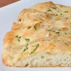 Jalapeno Garlic No-Knead bread - Easy and delicious.