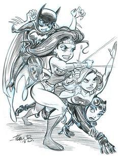 DC+Heroines+for+2013+by+tombancroft.deviantart.com
