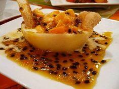 toda la información sobre la receta de cascos de parchita de la pagina de Carol Gourmet: Cascos de Parchita Carol Gourmet