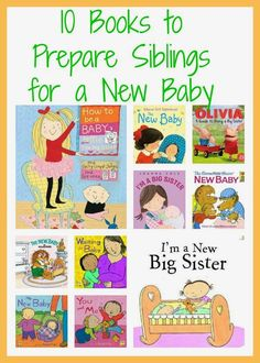 Preparing Siblings For A New Baby: books to prepare big brother and big sister for a new baby