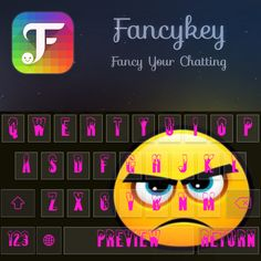 Feeling jealous seeing my new customised theme? Don't be!  Download @Fancykey http://dl5.fancykeyapp.com #Fancykey