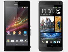 Vergelijking Sony Xperia ZR vs HTC One Mini | Versus OS