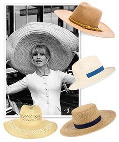 Les chapeaux de paille de l'ete