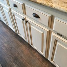Charmant Trico Painting   Roseville, CA, United States. Glazing Finish On Oak  Cabinets