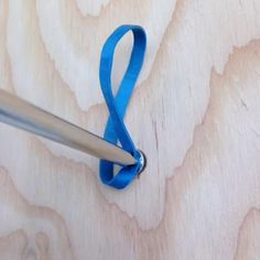 Stripped screw? No problem, just use a rubber band. #lowesfixinsix #howto