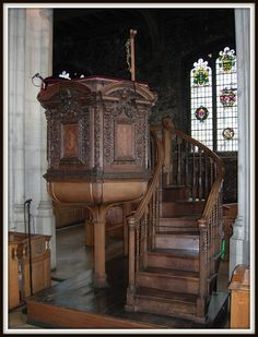 all hallows barking london | The Pulpit ~ All Hallows By The Tower aka All Hallows Barking (a Grade ...