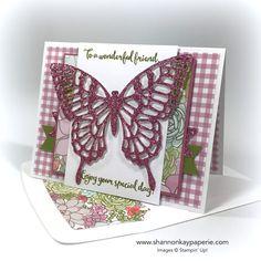 For A Wonderful Friend Birthday Card Ideas - Shannon Jaramillo Stampin Up