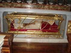 The body of Pope St. John XXIII, the pope best known for the reform of the Catholic Church during the Second Vatican Council (1962-65), was removed from the crypt of St Peter's Basilica on June 3, 2001 and transferred in a glass coffin to the interior of the church, he is only like one of 4 popes to have that honor. Millions of Catholics are expected to visit the basilica to pay homage to John XXIII, one of the most respected pontiffs of the 20th century. If you can't tell, HE'S…