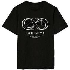 KPOP INFINITE T-Shirt Reality Album Same Style Tshirt Hoya Dong Woo... ($11) ❤ liked on Polyvore featuring tops, t-shirts, sports tees, sport t shirt, sports t shirts, sport tee and sports tops