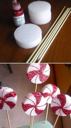 simple and inexpensive DIY Christmas hacks for a more livable . - simple and inexpensive DIY Christmas hacks for a more enjoyable holiday – Amz Dego - Christmas Hacks, Noel Christmas, Christmas Projects, Winter Christmas, Christmas Lights, Christmas Window Display, Christmas Ornaments, Christmas Float Ideas, Christmas Parade Floats