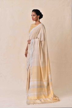 Laid-Back Luxury Collection . Latest Designer Sarees, Designer Dresses, Sari, Handloom Saree, Saree Collection, Color Combinations, Hand Weaving, Indian, Luxury