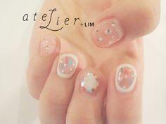 ネイルスナップ更新 パステル×しろ | 飯田絵里花 | 14 FEB. 2015 | LIM | LESS IS MORE #atelier+LIM #nail #japan