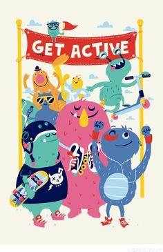 Get Active - Greg Abbott