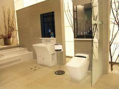 Bidé és WC egyetlen, Bidé funkciók - Távirányítóról vezérelhető