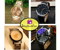 Treat Your Self Now with this Luxury Watch with just only 4$ to 10$ then Receive a 5% discount by using the Coupon. Visit our Store now https://delightandcheer.com/collections/watches #watches #watchlovers #watchlover #fashion