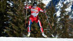 marit bjoergen skiing