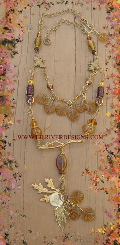 Little Owl Necklace and Earring Set by lilriverdesigns on Etsy, $95.00
