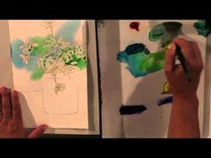 Watercolor for Beginners (Episode 19): Spring Daisies in Watercolor with Jan Fabian Wallake