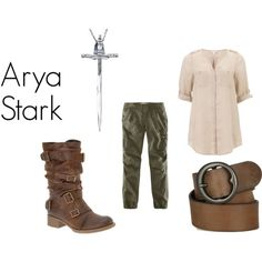 """Arya Stark from A Game of Thrones """"Winter is..."""