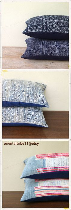 http://www.etsy.com/shop/orientaltribe11 Retro Ethnic Textile Decorative Throw Pillow Case by orientaltribe11@etsy