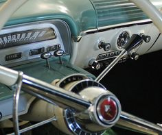 valscrapbook:  1954 Mercury Monterey 4-Door Sedan (3 of 6) by myoldpostcards on Flickr.