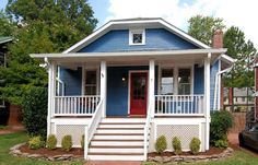 cute DC bungalow - not mini but would like to recreate in mini