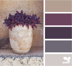 planted tones. When my generator is fixed I'm going to make beads using this colour palette