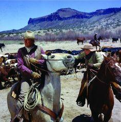 Still of John Wayne in The Cowboys (1972)