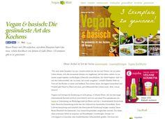 """Gewinnt drei Mal """"Vegan & basisch: Die gesündeste Art des Kochens""""! BeiVeganBlattkönnt ihr noch bis heute, dem 7. Oktober 2014, drei Mal """"Vegan & basisch: Die..."""