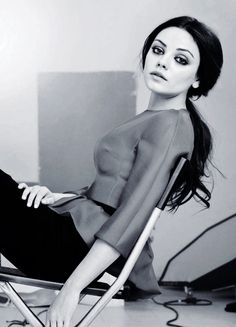 Mila Kunis for Vogue Russia August 2012