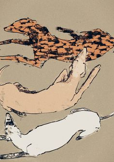 Anja Zaharanski. 365 Dogs Project.  Click through to visit the rest of the artists art.