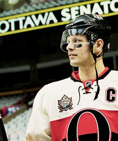 Jason Spezza • Ottawa Senators           Going to miss him on the team :( Hockey Teams, Ottawa, Rugby, Nhl, Sassy, Dallas, Sick, Coaching, Baseball Cards