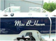Miss B Haven Boat Names Kayak Boats Float Your Lake Cabins