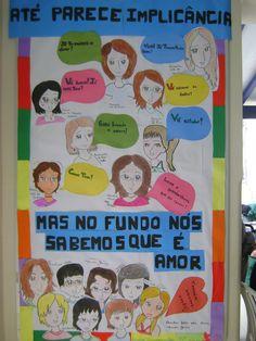 Mural - Dia das Mães   Unidade Laranjeiras