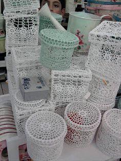 TRICO y CROCHET-madona-mía: Modelos de piezas endurecidas a ganchillo(crochet)