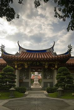 An entrance to a monastery in Singapore | Flickr - Photo Sharing!
