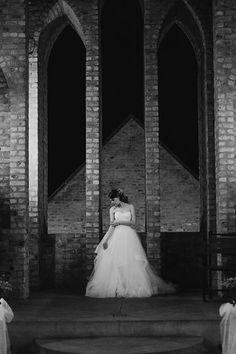 Wedding Dress Castle Black and White Black Castle, Van, Black And White, Wedding Dresses, Fashion, Bride Dresses, Moda, Bridal Gowns, Black N White