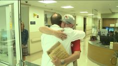 """KANSAS CITY, Kan. -- A Bonner Springs man has the new nickname of """"Miracle Mike"""". You could also call him """"Grateful Mike"""". He's grateful to the people who saved his life.  Mike Gibbons is back in the E.R. at Providence Medical Center, and a nurse and doctor are thrilled.  """"He's telling me 'Thank you' and that's just amazing to have that,"""" said the nurse, Tammy Weitz."""