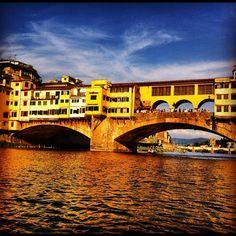 Ponte Vecchio, em Florença