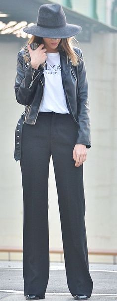 Black And White Casual Fall Business Style Inspo by Bonjour….JR