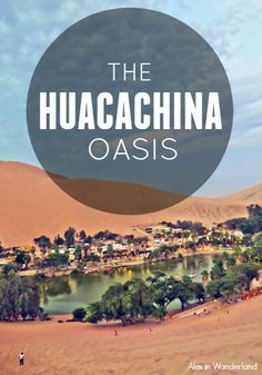 The Huacachina Oasis, Peru.  Sandboaring and dune buggy rides in a crazy surreal setting!  Must see to believe :) | Alex in Wanderland