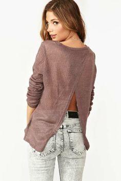Split+Back+Knit