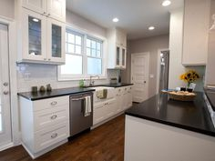 white kitchen ideas ... Pristine Conditions - Rockin' Renos from HGTV's Property Brothers on HGTV