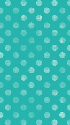 Aqua With White Polka Dots Cool Wallpaper Teal Iphone Backgrounds Cellphone