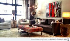NYC Chelsea Apartment Image: Yvonne Randolph The owner of this New York apartment is an art historian and collector so she wanted her space to reflect a modern, comfortable and a well-travelled style. You will notice how exquisite the decors and furniture in this home.