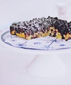 Okrenuta torta od borovnica
